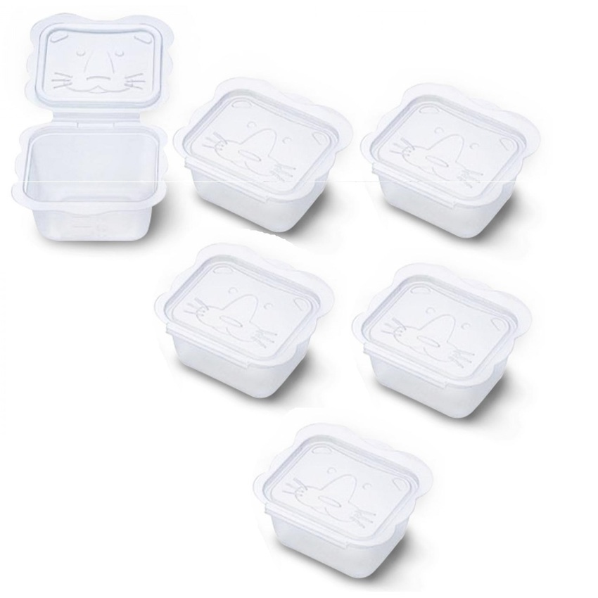 Bộ 6 hộp chia thức ăn 150ml Richell RC98108