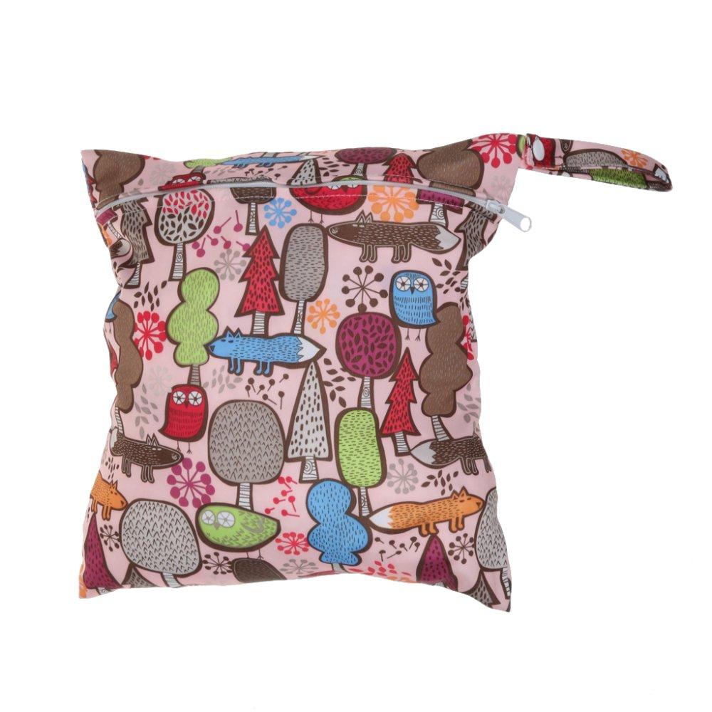 BolehDeals Waterproof Baby Zipper Diaper Bag Wet Dry Swim Travel Tote #7 - intl