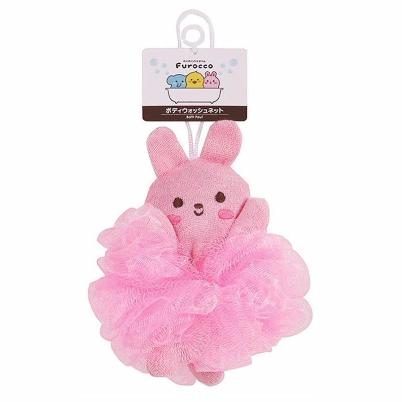Bông tắm cho bé hình thỏ Kokubo Nhật Bản KKB047.