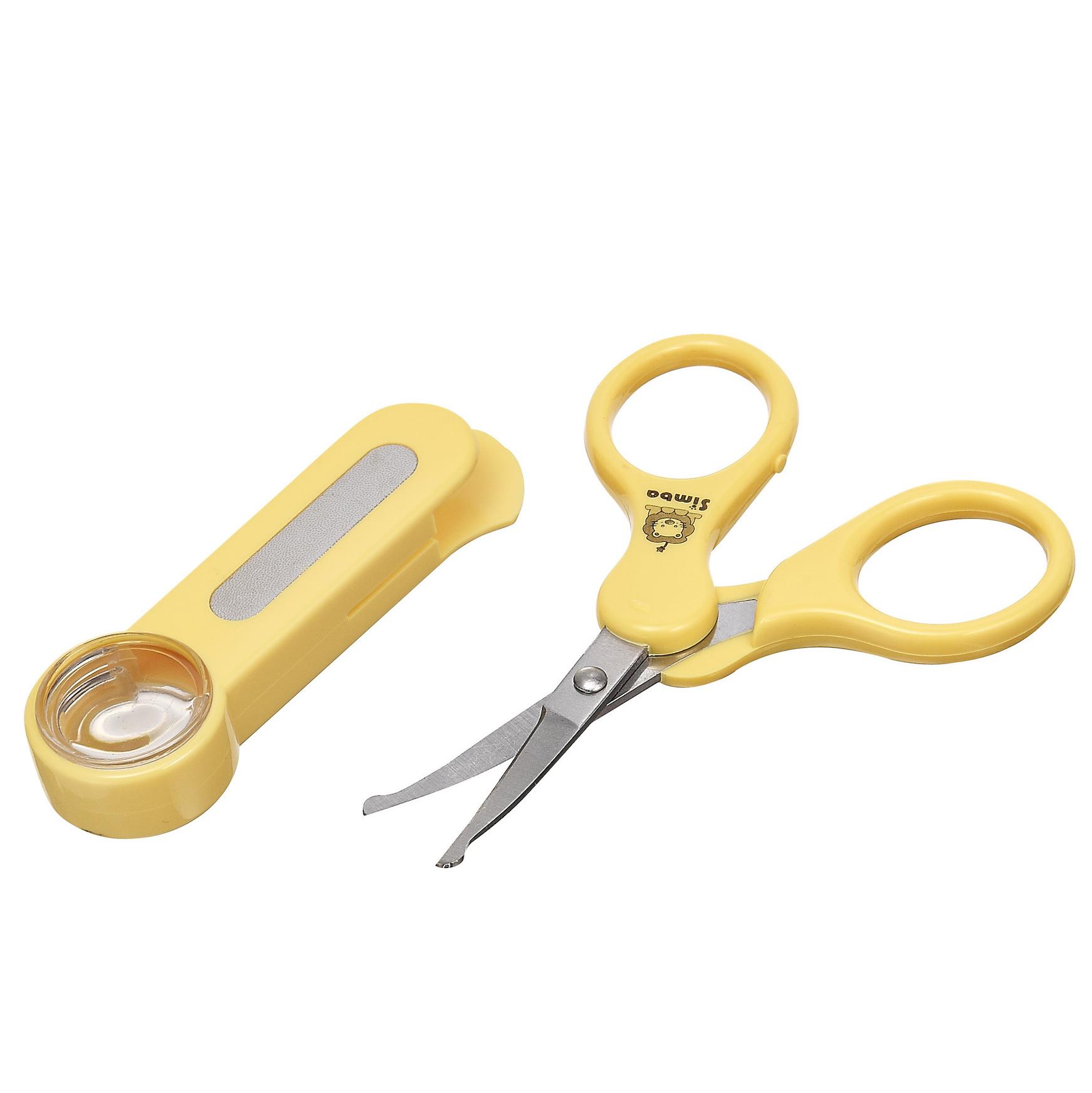 Dụng cụ cắt móng tay cho bé có kính lúp