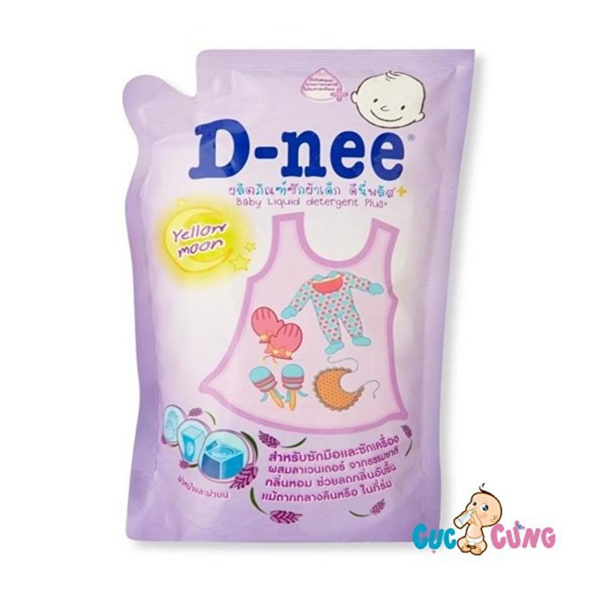 Dung dịch giặt xả Dnee gói 600ml (tím)