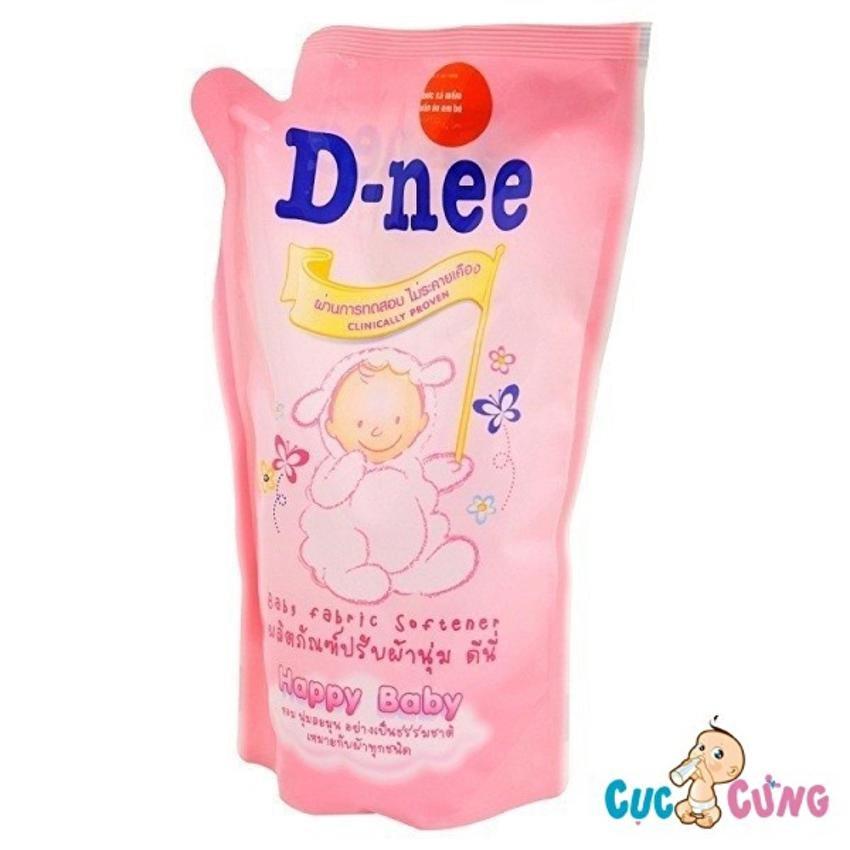 Dung dịch xả Dnee gói 600ml (hồng)