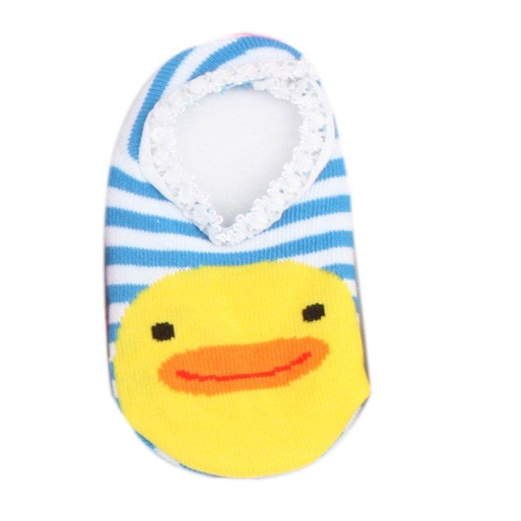 Fancyqube Unisex Baby Kids Toddler Anti-Slip Socks Shoes Slipper (Blue)