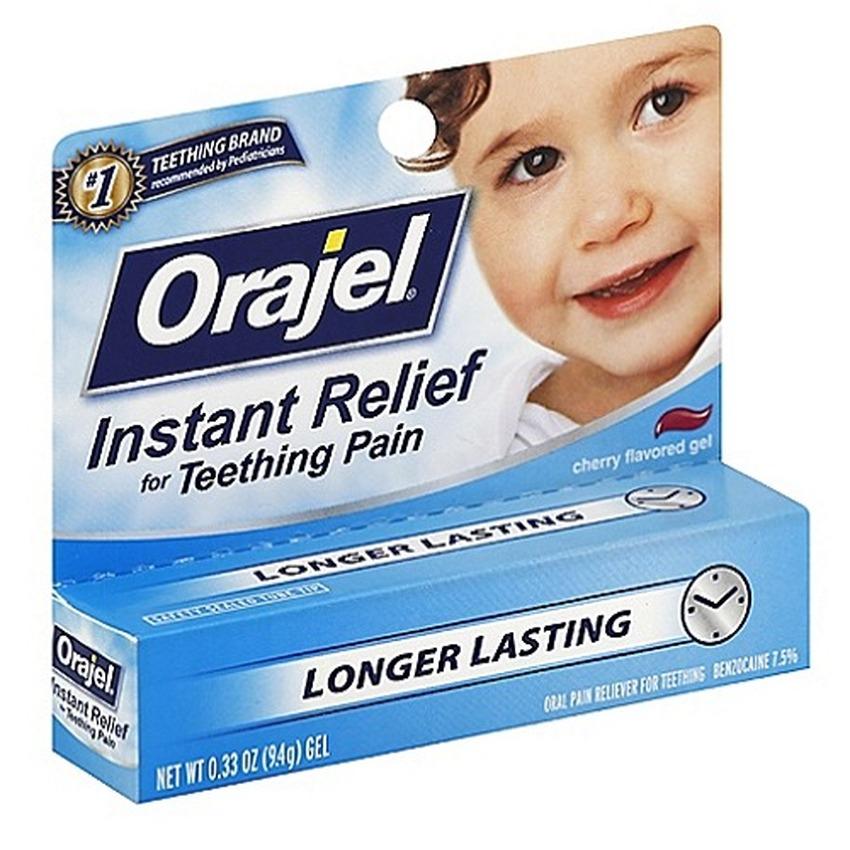 Gel bôi giảm đau nướu Orajel Longer Lasting BIGS-431 9.4g