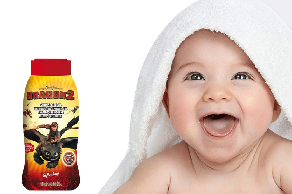 Gel tắm gội trẻ em tinh dầu bơ và Jojoba Dragon Trainer