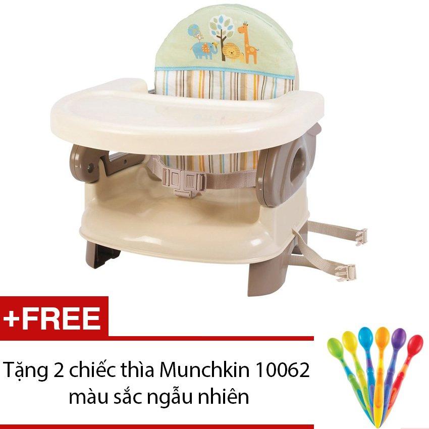 Ghế ăn Summer SM13050 Deluxe + Tặng 2 thìa mềm Munchkin 10062