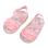 Infant Soft Sole Princess Sandals (Pink)