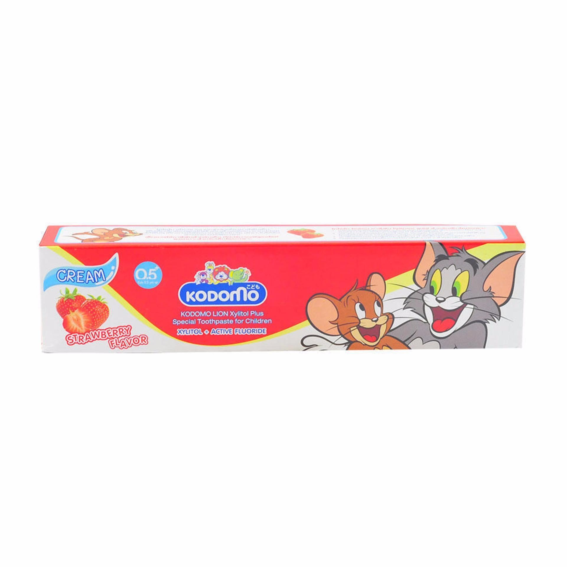 Kem đánh răng trẻ em vị hoa quả KODOMO Thái Lan 45g