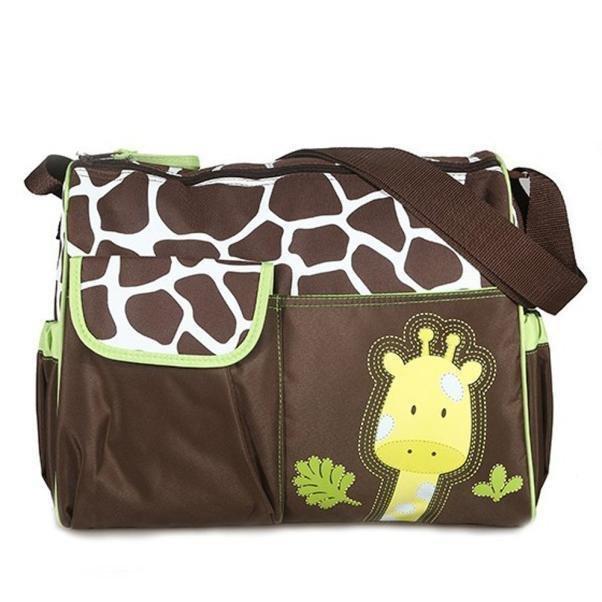 Multi Function Baby Diaper Nappy Changing Bag Changing Mat Mummy Handbag Green - Intl