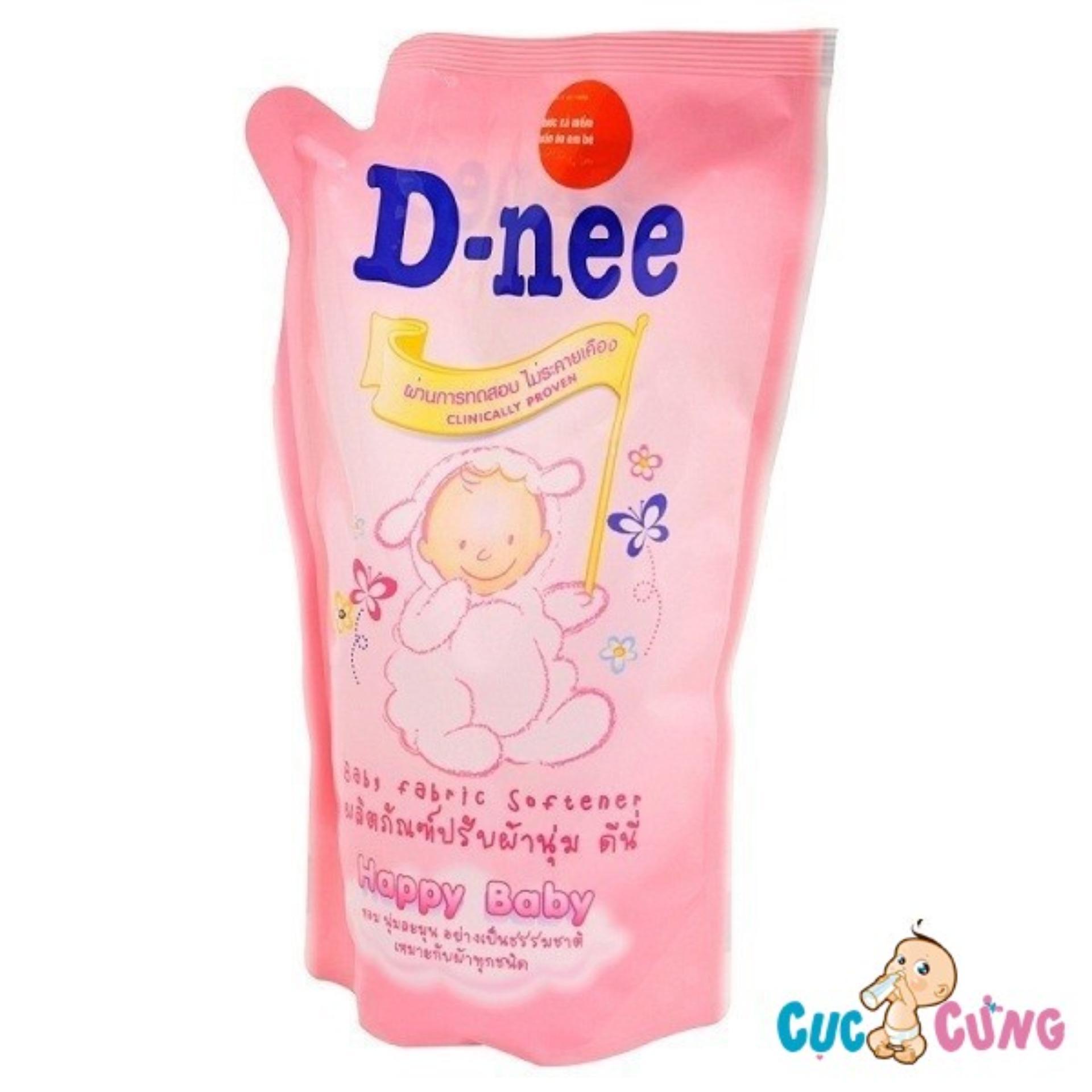 Nước xả vải Dnee gói 600ml Thái Lan (hồng)