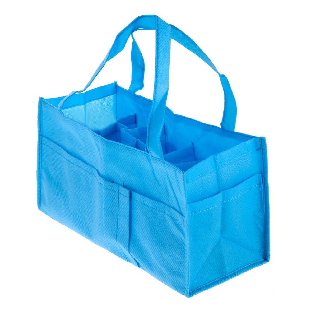 Portable Baby Diaper Nappy Storage Bag (Blue)