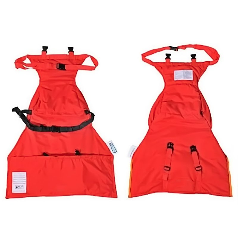 Portable Highchair Safety Harness Seat Strap Belts for Baby Infant Bright Red (Intl)