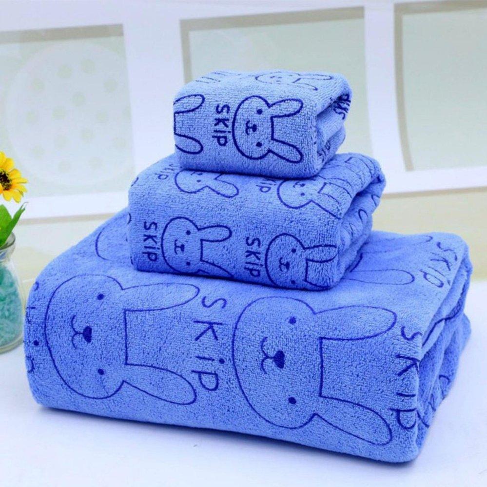 Set 3 khăn tắm thái lan mềm mịn cho bé