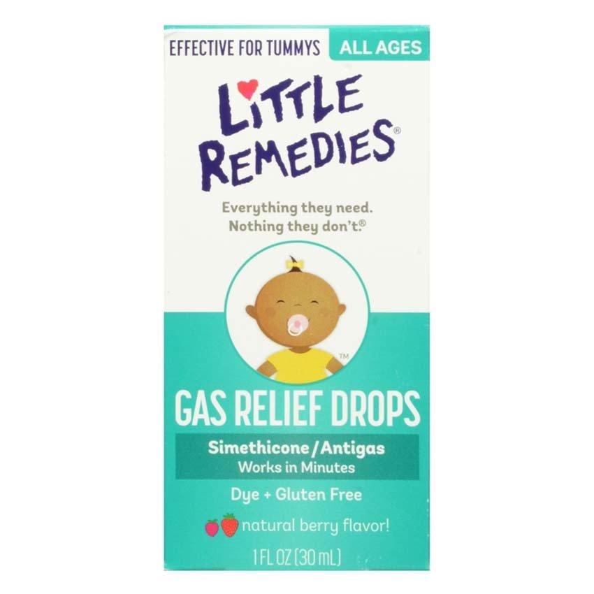 Siro tan biến ợ hơi Little Remedies Tummys Gas Relief Drops Natural Berry Flavor 30ml