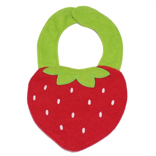 Strawberry Style Cotton Baby Bibs Infant Saliva Towels Baby Accessories - Intl