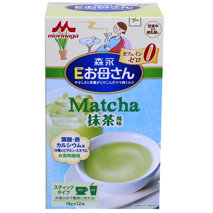 Sữa bầu Morinaga vị Matcha 18g x 12 gói