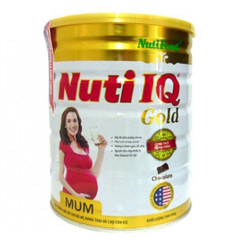 Sữa bột cho bà mẹ mang thai Nutifood Nuti IQ Mum 900g