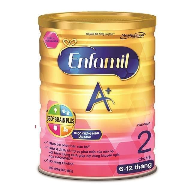 Sữa bột Enfa Enfamil A+ 2 360 400g 2016