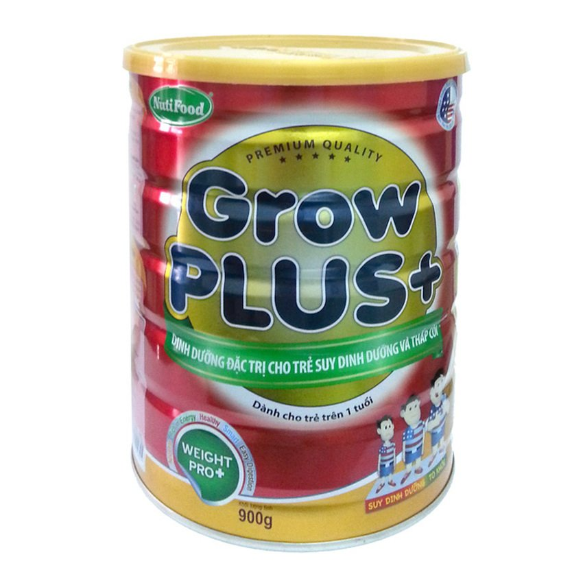 Sữa bột Nutifood Grow Plus 900g (Đỏ)