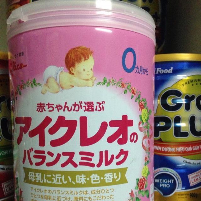 Sữa Glico Icreo số 0(Nhật)