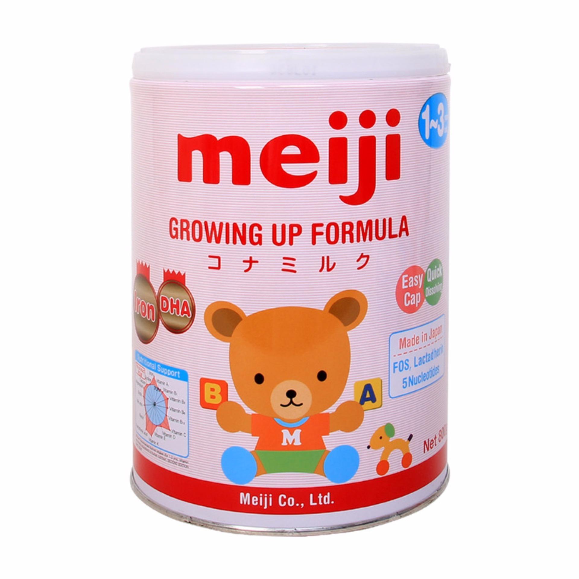 Sữa Meiji Growing up Formula 800g