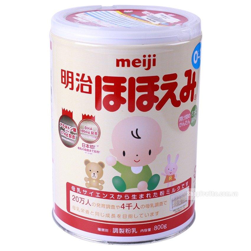 Sữa Meiji số 0 800g.