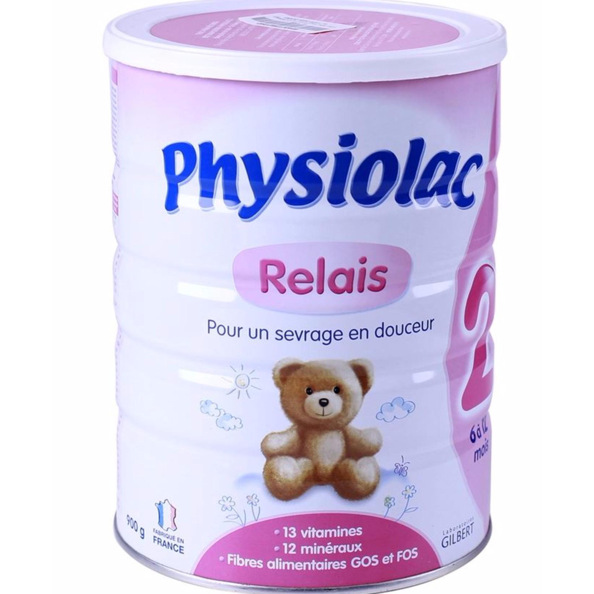 Sữa Physiolac số 2 - 900g (500ml - 1 lít)