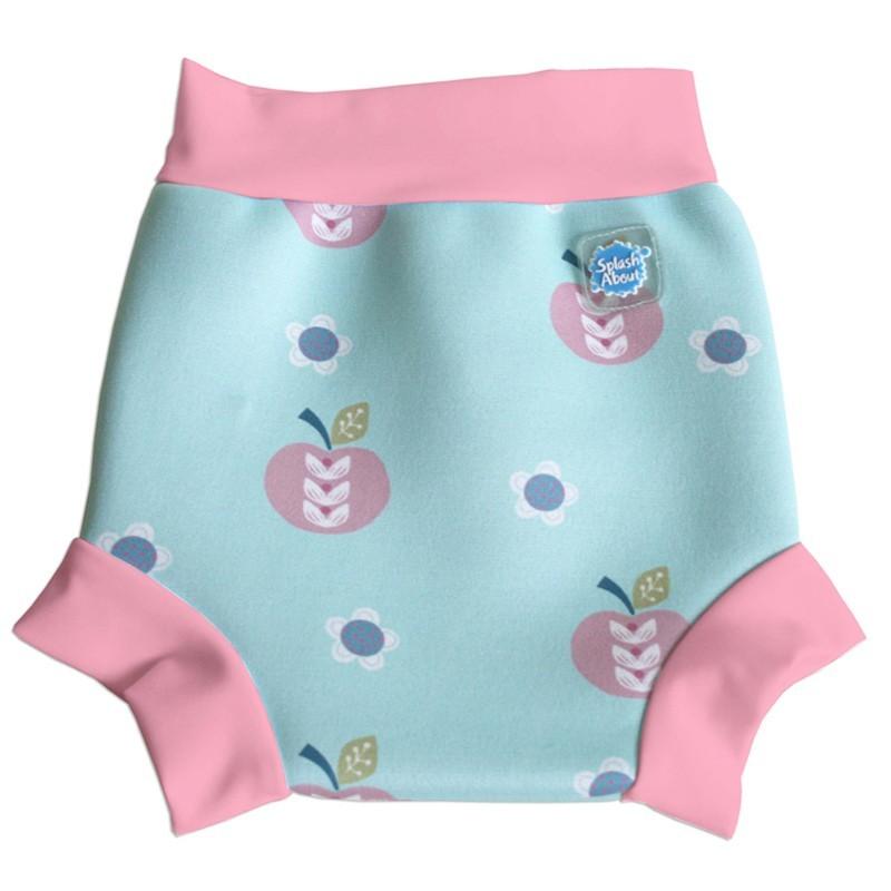 Tã đi bơi 6 - 14 tháng Splash About Happy Nappy Apple Daisy (Xanh)
