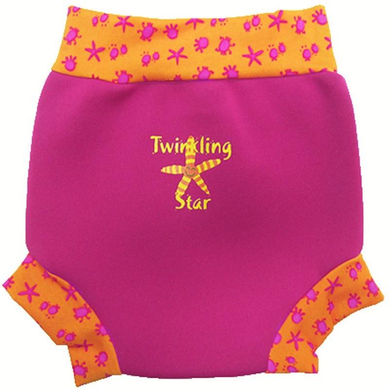Tã đi bơi 6 - 14 tháng Splash About Happy Nappy Twinkling Star (Hồng)