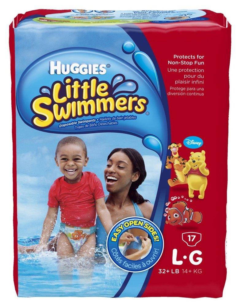 Tã quần dành cho bé đi bơi Huggies L17