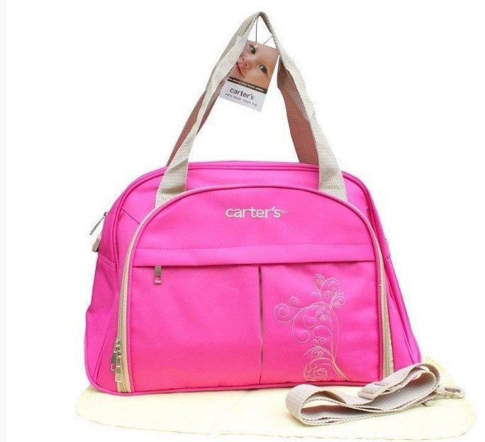 Túi cho mẹ và bé M8908 (Hồng)
