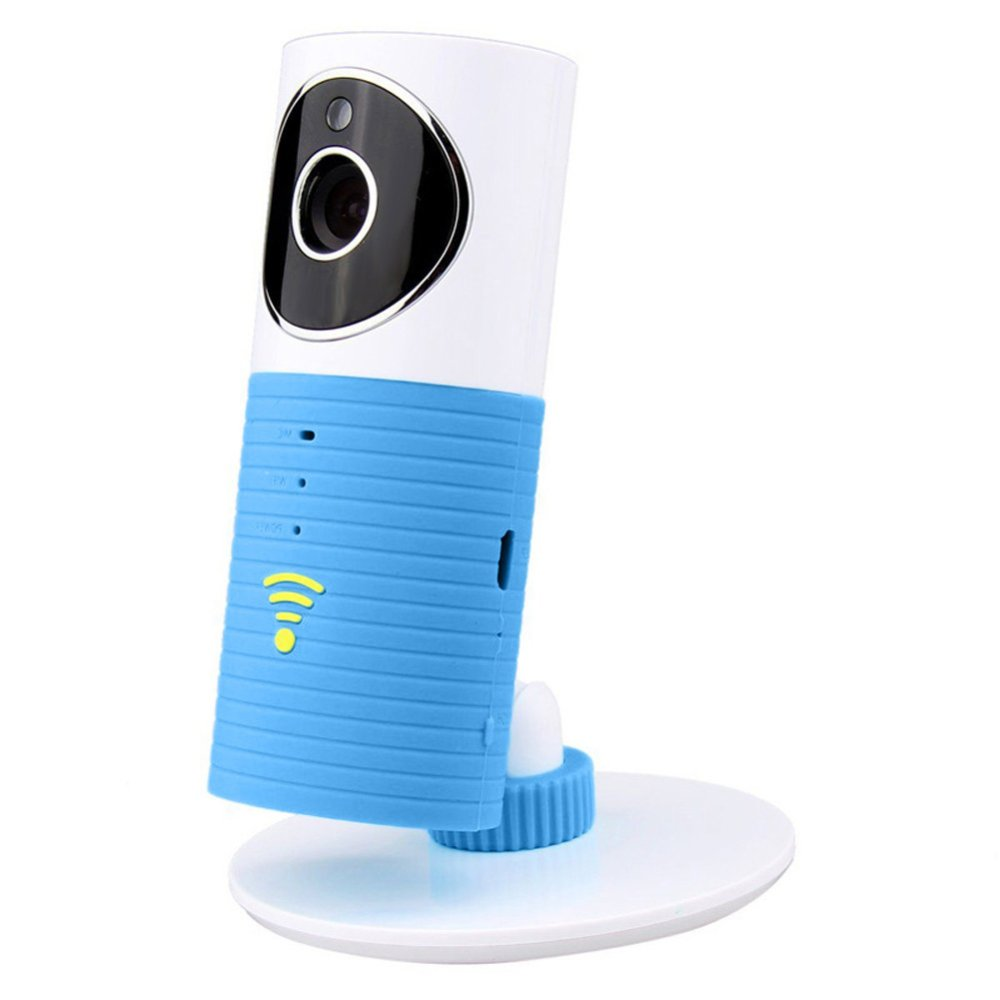 Wifi Home Security Camera Baby Monitor Smart Phone Audio Night Vision Blue - INTL