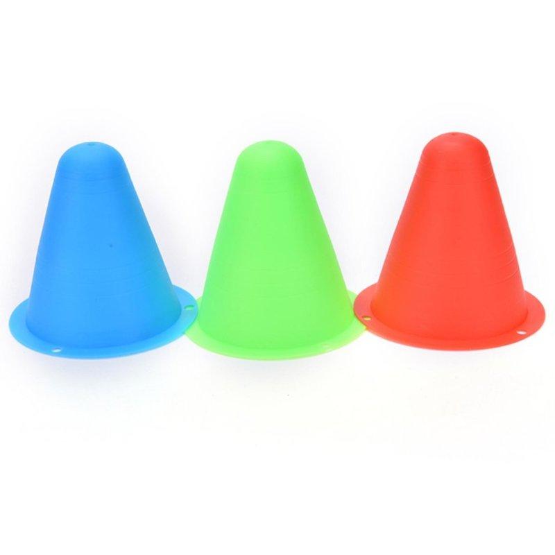 Mua 10pcs Colorful Marker Cones Slalom Roller Skating Training Traffic Sport - intl