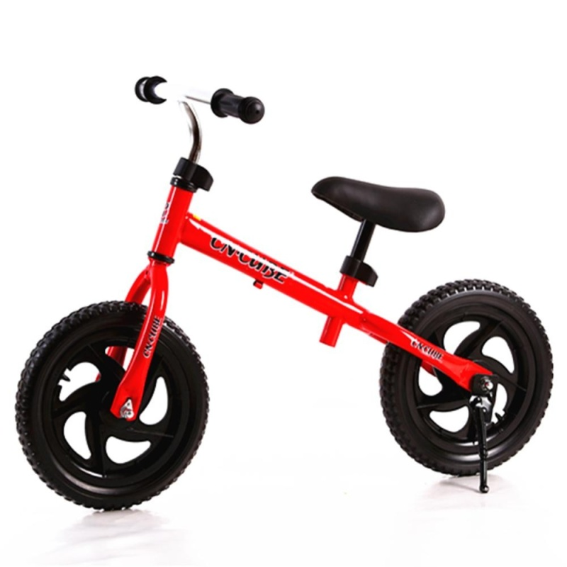 Phân phối 12 Inch Children Two-wheeled Pushbike Balance Training Bike with Adjustable Handlebar and Saddle Color:Red Size:12 inch - intl