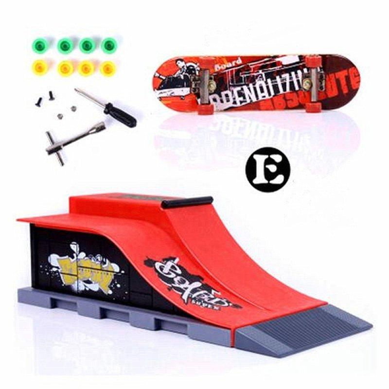 Mua 6 Types Skate Park Ramp Parts for Tech Deck Fingerboard Ultimate Parks E - intl