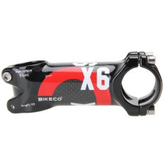 Bikeco Handlebar with 3K Carbon Fiber Ultralight Stem (Red) (80mm) - intl