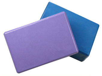 Bộ 2 gạch Yoga bằng xốp EVC (Tím).