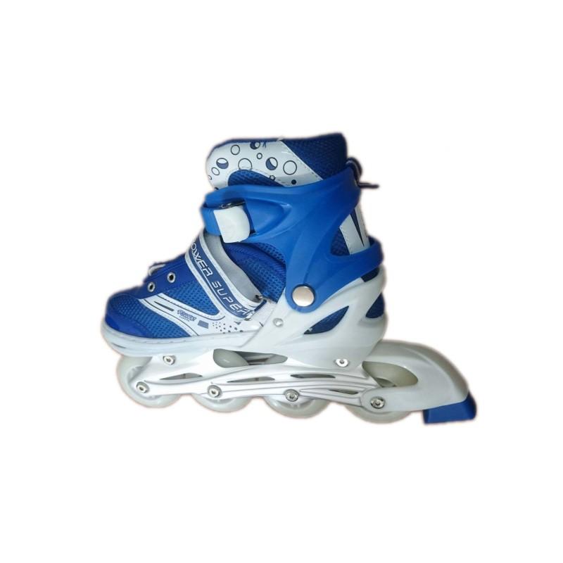 Phân phối Giày patin có đèn bánh xe (Xanh)