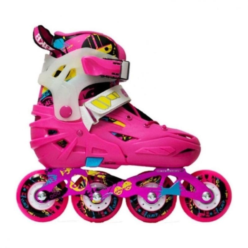 Phân phối Giày patin Trẻ em Flying Eagle K6  + Tặng 1 đôi găng tay lót nỉ siêu cute + Tặng 1 đôi dép nỉ đi trong nhà