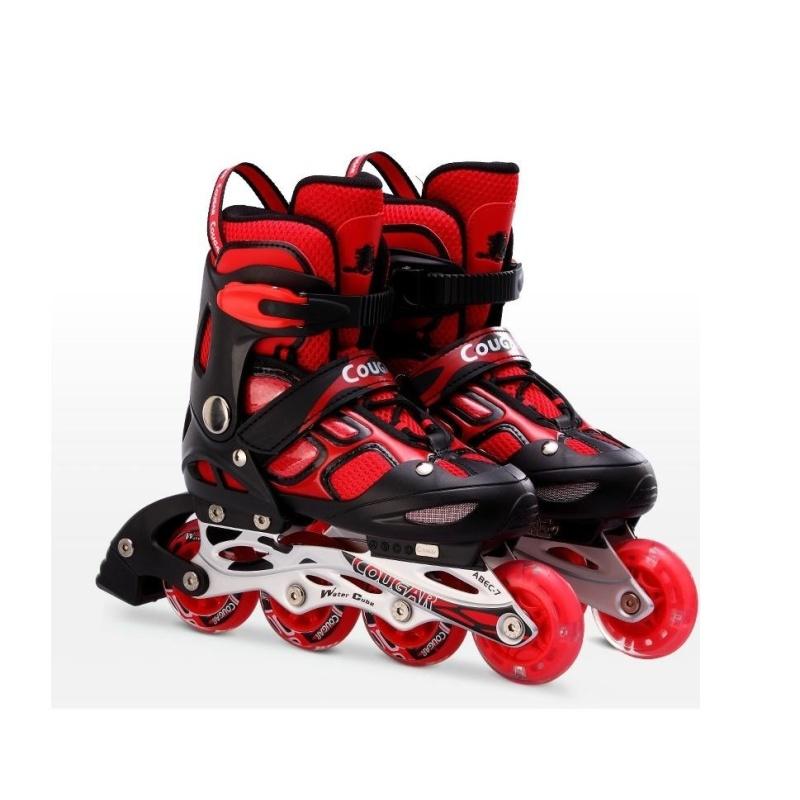 Phân phối Giầy trượt patin Cougar 835LSG đỏ GC-0001
