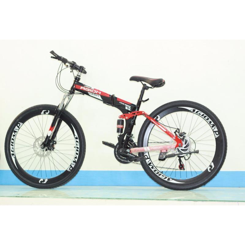 Mua Xe đạp địa hình Agiom gấp bánh 26
