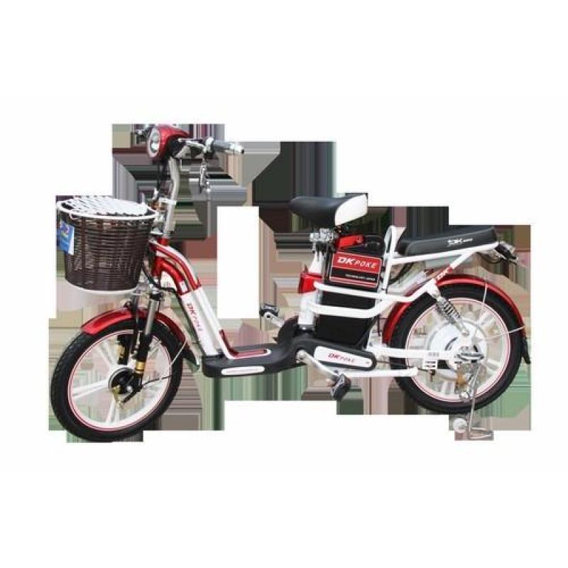 Mua Xe đạp điện DK POKE - Màu trắng