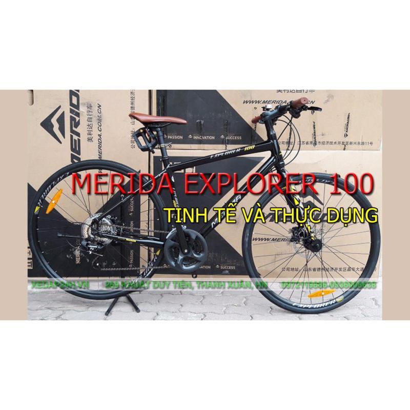 Phân phối xe đạp đường trường, xe city MERIDA EXPLORER 100