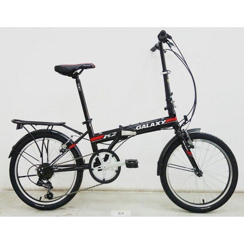Phân phối Xe đạp gấp Galaxy K2 (Đen)