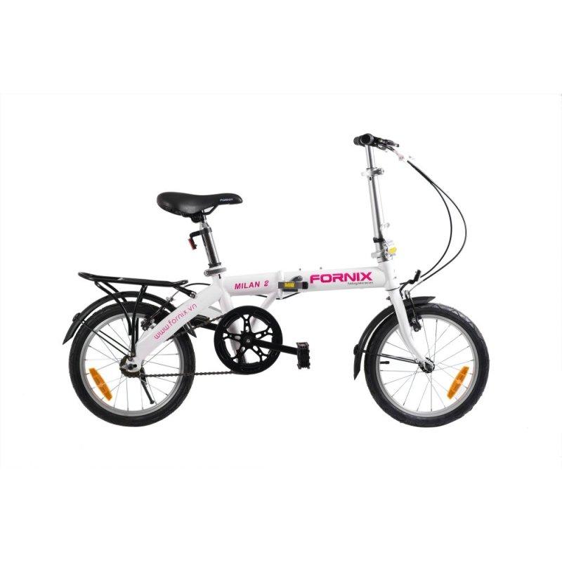 Phân phối Xe đạp gấp hiệu FORNIX, mã MILAN 2 (Hồng)