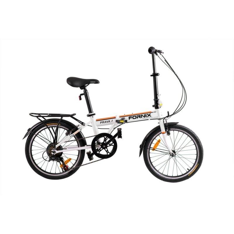 Mua Xe đạp gấp hiệu FORNIX, mã PRAVA 1 (Trắng)