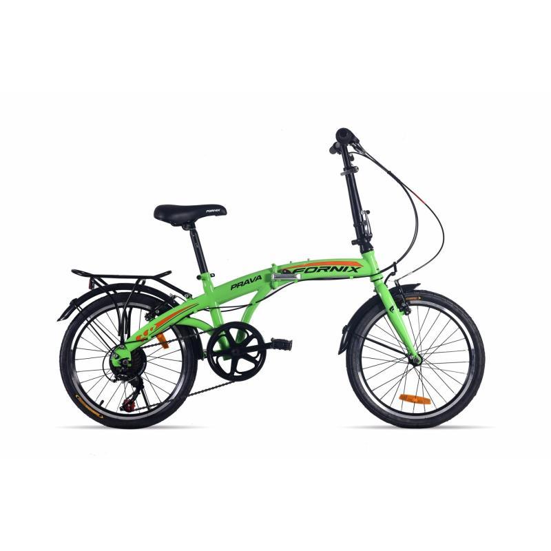 Mua Xe đạp gấp hiệu FORNIX, mã PRAVA  (Xanh lá)