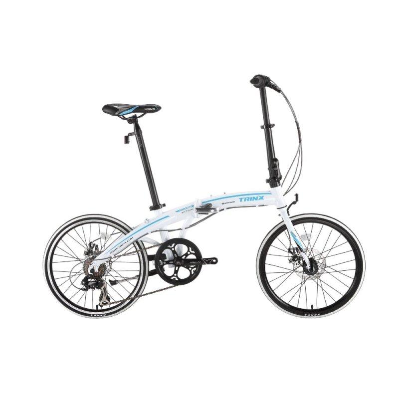 Phân phối Xe đạp gấp TRINX DA2007D(trắng xanh dương)