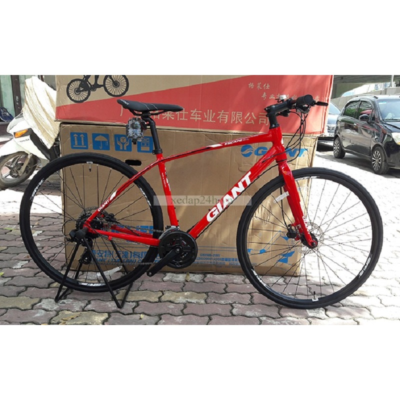 Phân phối Xe đạp thể thao GIANT ESCAPE SL2 – 2017 (Đỏ S)