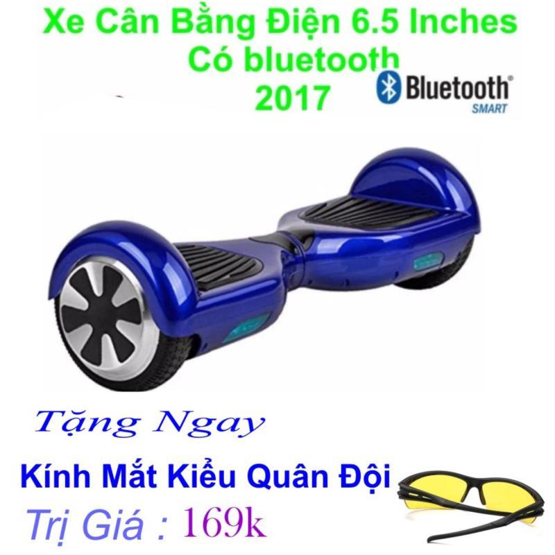 Mua Xe Tự cân bằng điện 6.5 inches Có bluetooth 2017(Xanh) Tặng Ngay Kính Kiểu Bồ Đội Trị Giá 169k